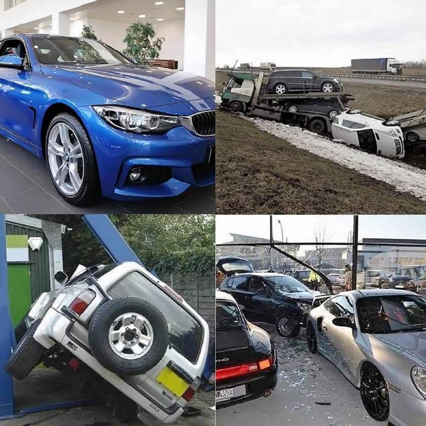 проверка нового автомобиля